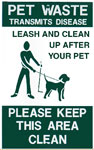 Lease and pick up after your pet
