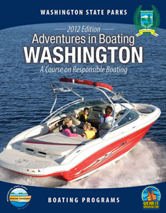 Cover of Adventures in Boating Washington Handbook